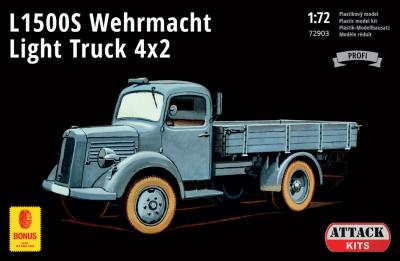 72903 - L1500S Wehrmacht Light Truck 4x2 1/72