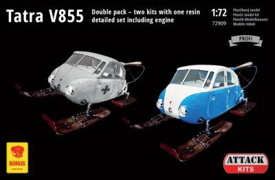 72909 - Tatra V855 Aerosan 1/72