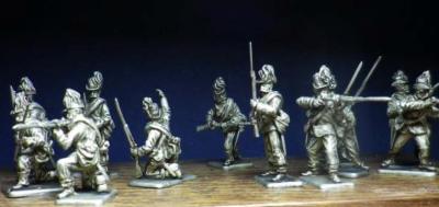 Autriche Jaegers tirant 1/72 figurines