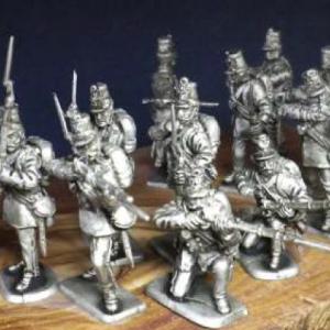 Autriche infanterie tirant 1
