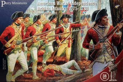 AW200 - American War of Independence British Infantry 1775-1783 28mm