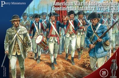 AW250 - American War of Independence Continental Infantry 1776-1783 28mm