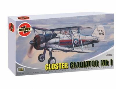 01002 - Gloster Gladiator Mk.I 1/72