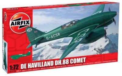 01013A - de Havilland DH.88 Comet Racer 1/72