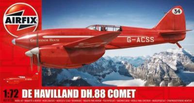 01013B - de Havilland DH.88 Comet Racer (Red) 1/72