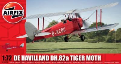 01024 - de Havilland DH.82 Tiger Moth (Civil) 1/72