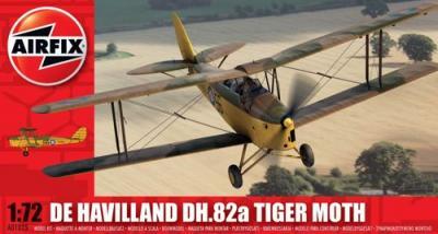 01025 - de Havilland DH.82 Tiger Moth (RAF) 1/72
