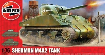 01303 - M4A1 Sherman 1/76