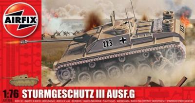 01306 - Sturmgeschutz/StuG.III Ausf.G 75mm Assault Gun 1/76