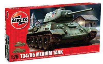 01316 - Russian T-34 Tank 1/76