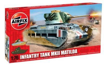 01318 - Matilda Mk.II Infantry Tank 1/76