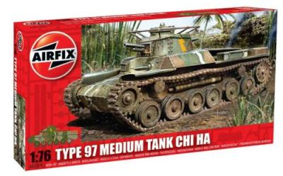 01319 - Type 97 Japanese Chi Ha Tank 1/76