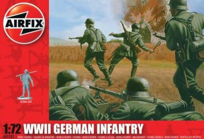 A01705 - German Infantry 1/72