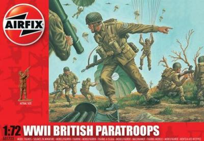 A01723 - British Paratroopers 1/72