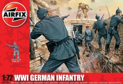 A01726 - WWI German Infantry 1/72