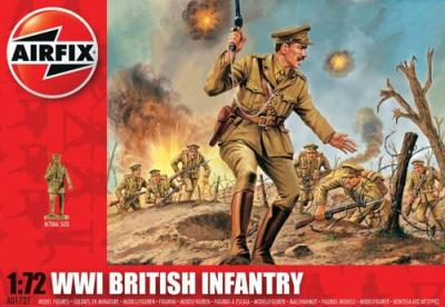 A01727 - WWI British Infantry 1/72