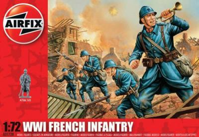 A01728 - WWI French Infantry 1/72