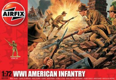A01729 - WWI American Infantry 1/72
