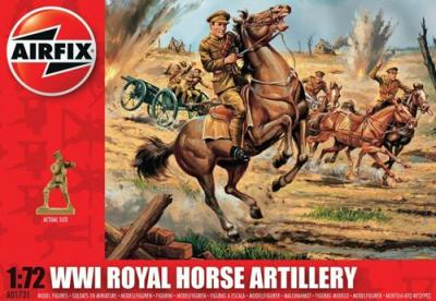 A01731 - WWI British Royal Horse Artillery 1/72