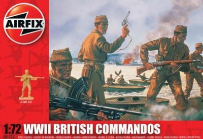 A01732 - British Commandos 1/72