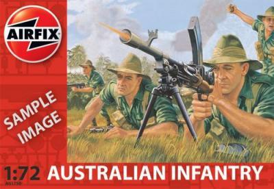 A01750 - Australian Infantry 1/72