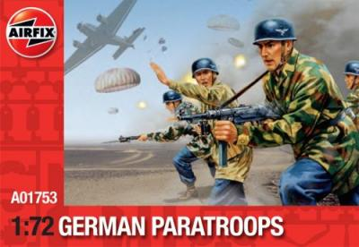 A01753 - German Paratroopers 1/72
