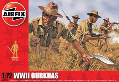A01754 - Gurkhas 1/72