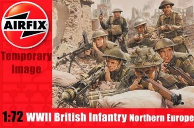 A01763 - WW2 British Infantry 1/72
