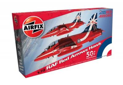 02005B - BAe Hawk T.1 Red Arrows 2014 50th Anniversary Tail Markings 1/72