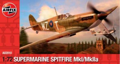 02010 - Supermarine Spitfire Mk.I / Mk.Iia 1/72