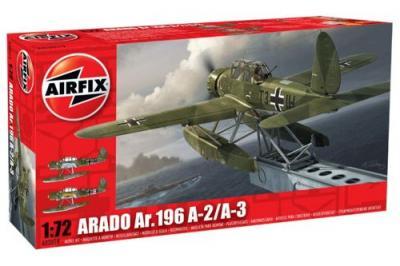 02019 - Arado Ar 196A-3 floatplane/seaplane 1/72