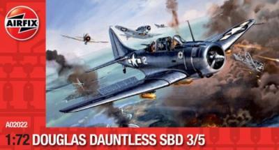 02022 - Douglas SBD-3 / SBD-5 Dauntless 1/72