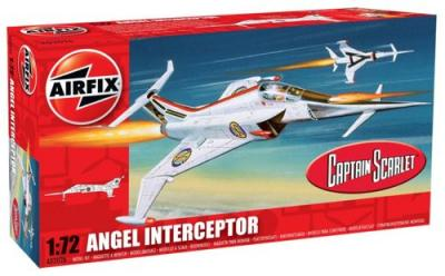 02026 - Angel Interceptor from Captain Scarlet 1/72
