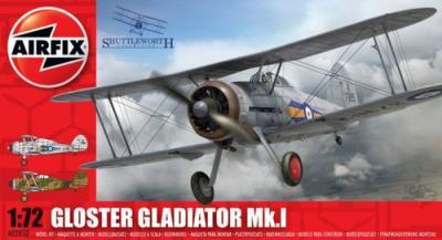 02052 - Gloster Gladiator Mk.I 1/72