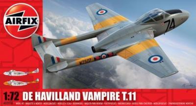 02058 - de Havilland Vampire T.11 1/72