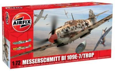 02062 - Messerschmitt Bf 109E-7 Tropical 1/72