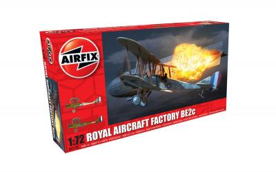 02101 - Royal-Aircraft-Factory BE.2c - Night Fighter 1/72