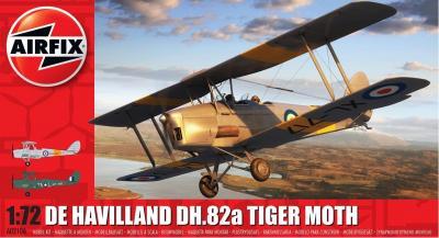 02106 - de Havilland DH.82 Tiger Moth 1/72