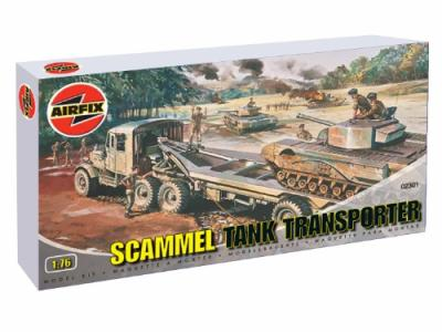 02301 - Scammell Tank Transporter 1/76