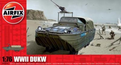 02316 - GMC DUKW 353 Amphibious truck 1/76
