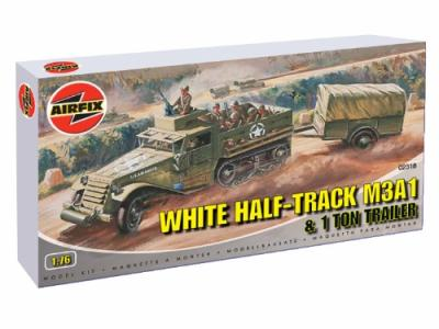02318 - M3A1 White 1/2 Track Personel Carrier 1/76