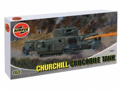 02321 - Churchill 'Crocodile' flame thrower 1/76