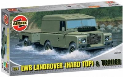 02324 - LWB Landrover (Hard Top) 1/72