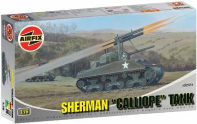 02334 - Sherman Calliope Tank 1/76