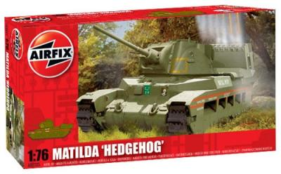 02335 - Matilda 'Hedgehog' with rear mounted rocket launcher 1/76