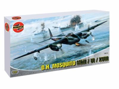 03019 - de Havilland Mosquito Mk.II / Mk.VI / Mk.XVIII 1/72