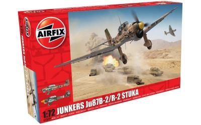 03089 - Junkers Ju-87B-2/R-2 'Stuka'  1/72