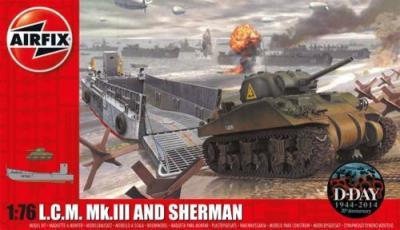 03301 - LCM 3 Landing Craft & Mk.II Sherman 1/72