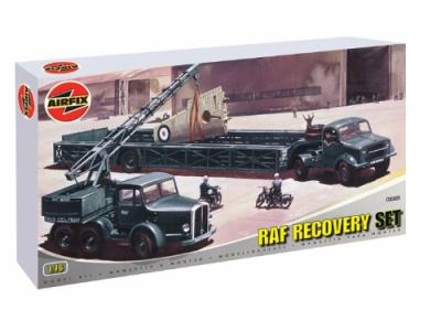 03305 - Aircraft Recovery Set. Coles Mk.7 crane and Queen Mary transporter Trailer 1/76