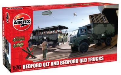 03306 - Bedford QL Trucks - QLT and QLD 1/76